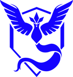 Pokemon Team Mystic Articuno Logo Prints Vinyl Decal Sticker