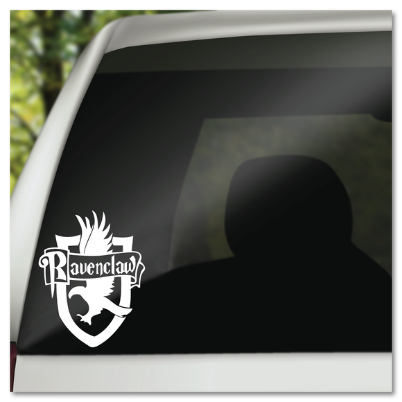 Harry Potter Ravenclaw Hogwarts House Shield Vinyl Decal Sticker