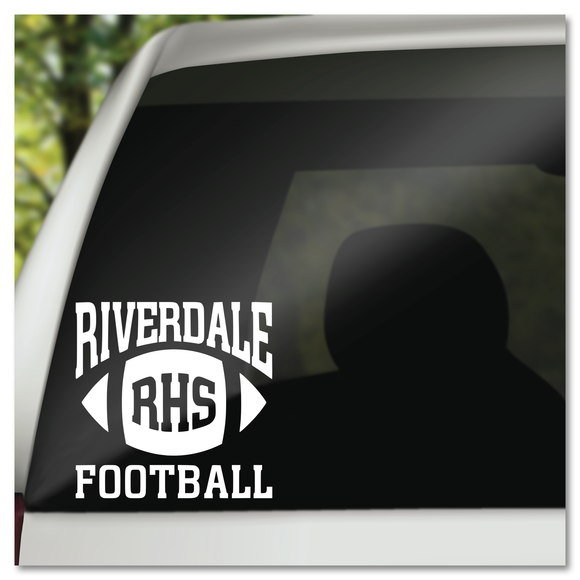 Riverdale High School Football Vinyl Decal Sticker