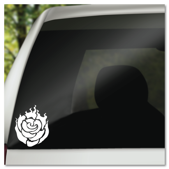 RWBY Rose Ruby Rose Vinyl Decal Sticker