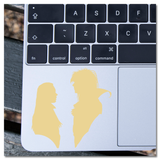 Jim Henson's Labyrinth Sarah and Jareth the Goblin King Vinyl Decal Sticker