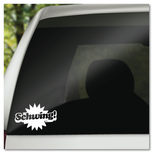 Waynes World Schwing Vinyl Decal Sticker