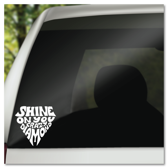 Pink Floyd Shine On You Crazy Diamond Vinyl Decal Sticker