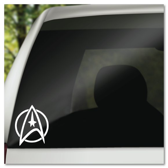Star Trek Command Insignia Star Treck  Vinyl Decal Sticker