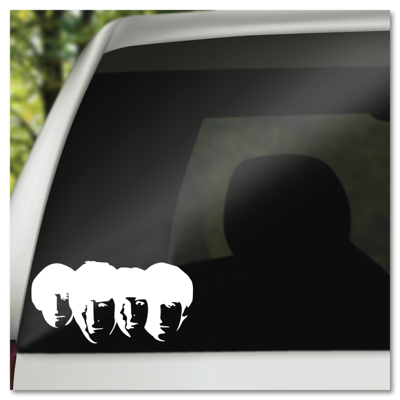 The Beatles Vinyl Decal Sticker