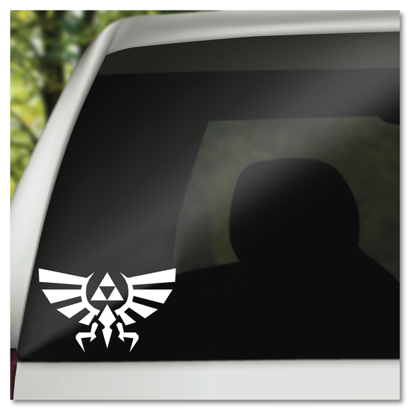 The Legend of Zelda Triforce Hyrule Vinyl Decal Sticker