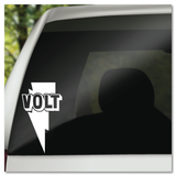 Volt Record Label Vinyl Decal Sticker