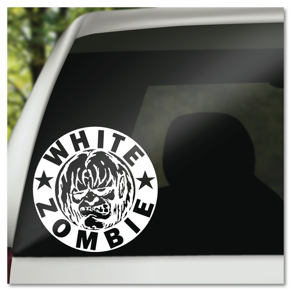 White Zombie Band Logo Vinyl Decal Sticker