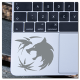 The Witcher Trinity Symbol White Wolf, Swallow, Obsidian Star, Geralt, Ciri, Yennifer, Gwynbleidd, Zireael  Vinyl Decal Sticker