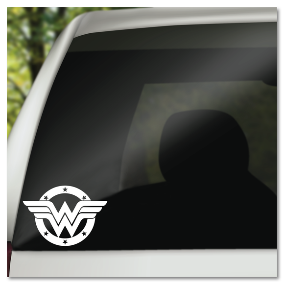 Wonder Woman Emblem DC Comics Justice League Vinyl Decal Sticker