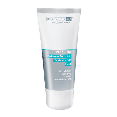 Cleansers - Radiance Boost Gel for a luminous complexion.