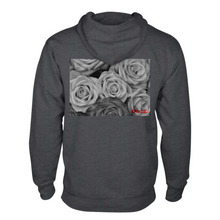 Load image into Gallery viewer, Grey Roses Hoodie