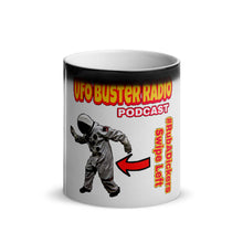Load image into Gallery viewer, UFO Buster Radio - Swipe Left Glossy Magic Mug