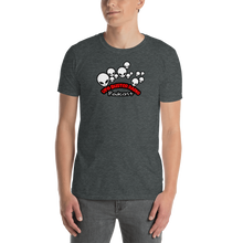 Load image into Gallery viewer, UFO Buster Radio - Multiple Alien Heads Short-Sleeve Unisex T-Shirt