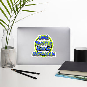 UFO Buster Radio Network Bubble-free stickers