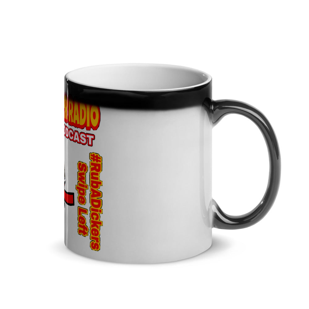 UFO Buster Radio - Swipe Left Glossy Magic Mug