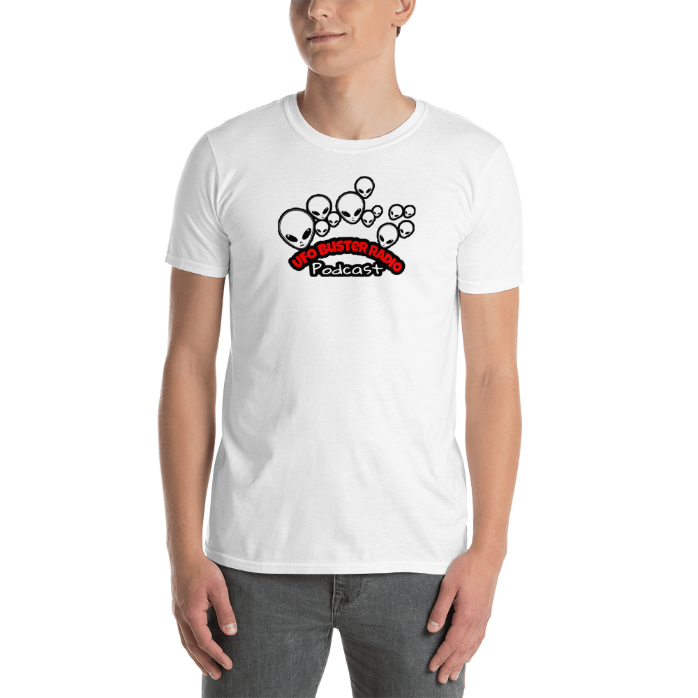 UFO Buster Radio - Multiple Alien Heads Short-Sleeve Unisex T-Shirt