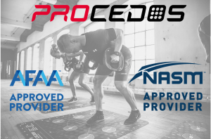 Procedos education material with credits from NASM and AFAA