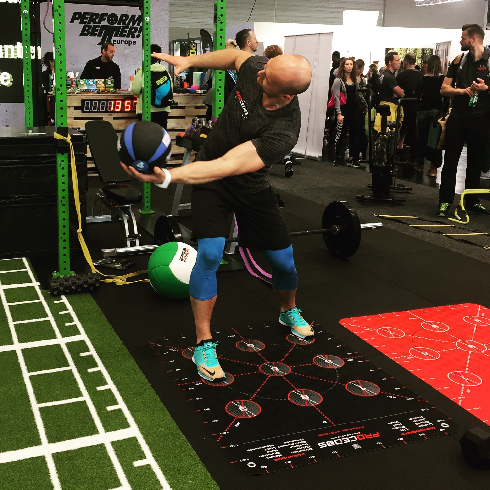 Load and Explode in functional training with Procedos Platform9