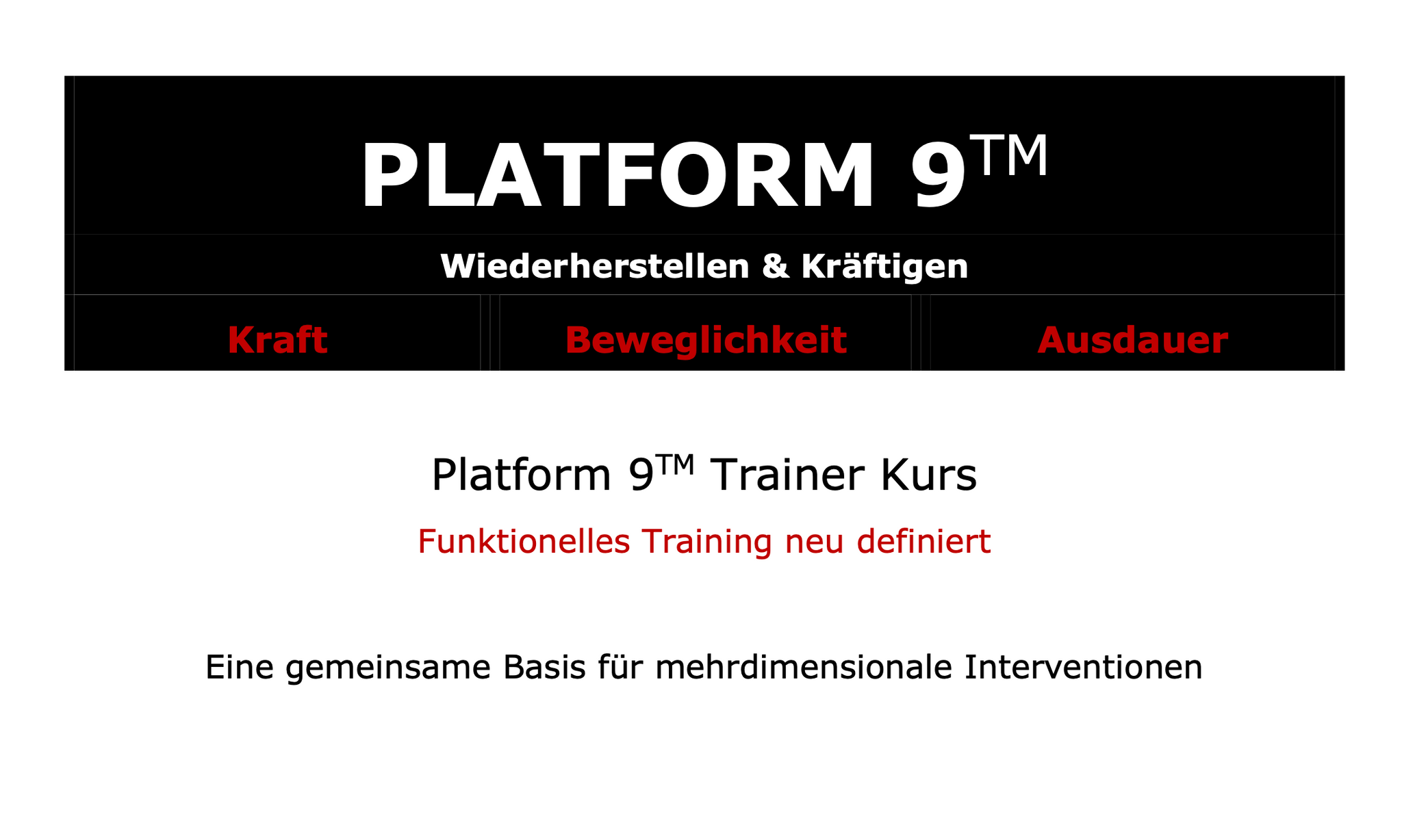 Procedos Platform 9TM Trainer Kurs information.