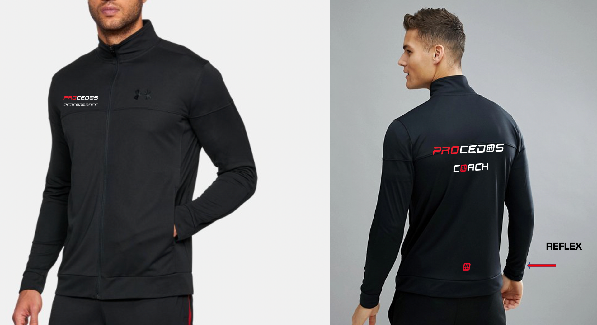 PROCEDOS PERFORMANCE Under Armour Longsleve FULLZIP jacket