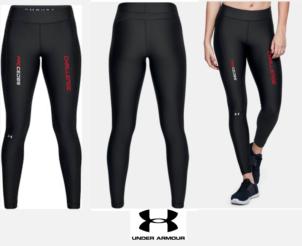PROCEDOS CHALLENGE Under Armour Tights Black