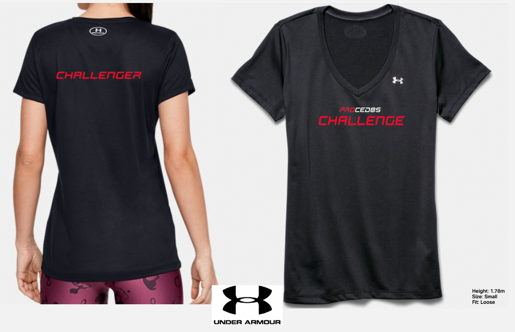 PROCEDOS CHALLENGE FEMALE -T-SHIRT -Under Armour