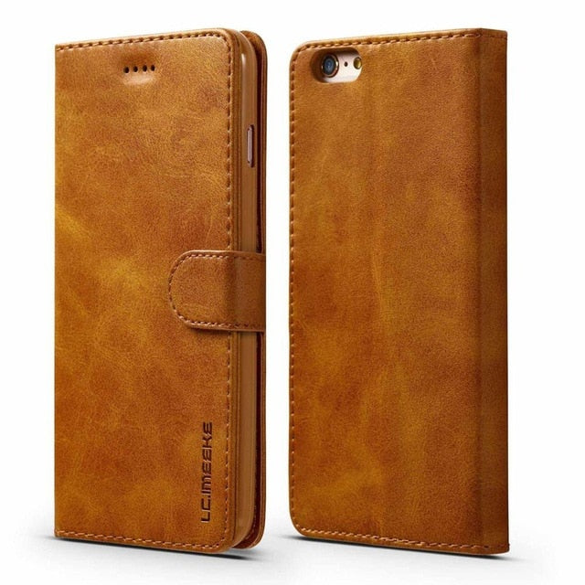 Convenient And Stylish Leather Wallet For Your iPhone