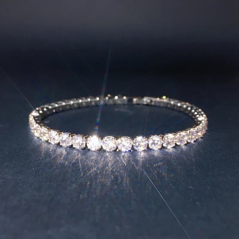 Formal Womens Simulated Diamond Bracelet