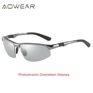 Photochromic Polarized Sunglasses / Day-Night Vision Driving