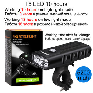 1000 Lumen Waterproof LED Bike Light
