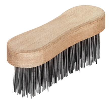 "5 Row ""Soft"" Wire Brush"