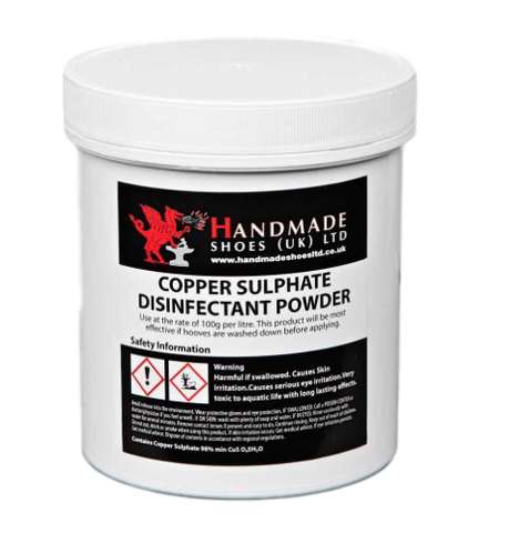 Copper sulphate disinfectant powder (450g pot)