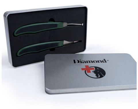 "Diamond ""Veterinarian Pack"" Searcher hoof knives"