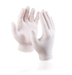 Latex Disposable Gloves (medium & large)