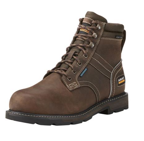 "Ariat - Groundbreaker 6"" H2O - Brown (BS EN 346:1993)"