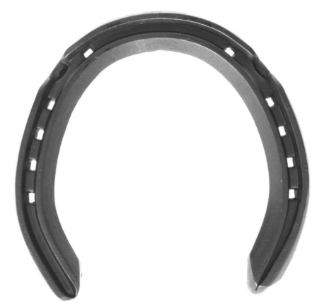 "5/8"" x 5/16"" Training Plates (side clipped hinds) - Richard Ash horseshoes"