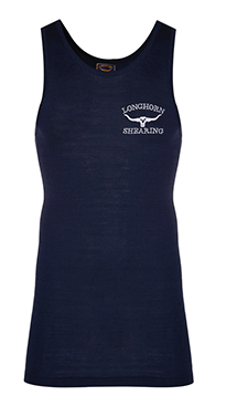 Extra Long Singlet (fine knit wool) - Horner Shearing