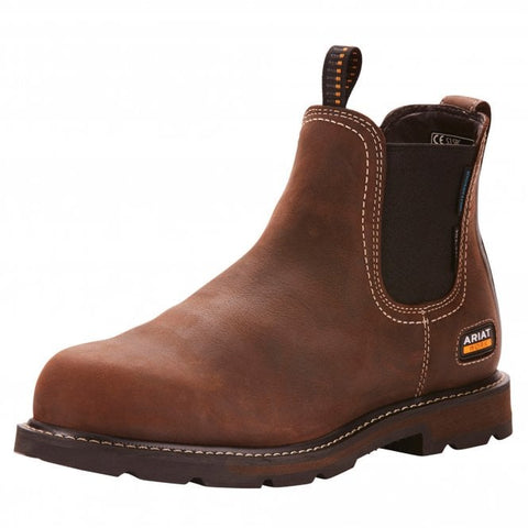 "Ariat - ""Chelsea Boot"" Groundbreaker 6"" H2O - Brown (BS EN 346:1993)"