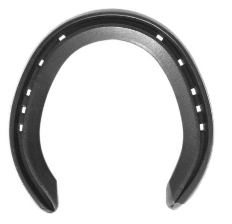 19x8mm Training Plates (unclipped hinds) - Richard Ash horseshoes