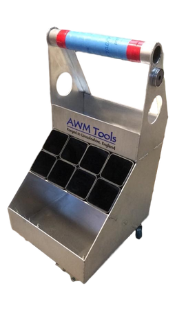 "AWM Farriers Floor box ""Regular"" (with wheels) - AWM Tools"