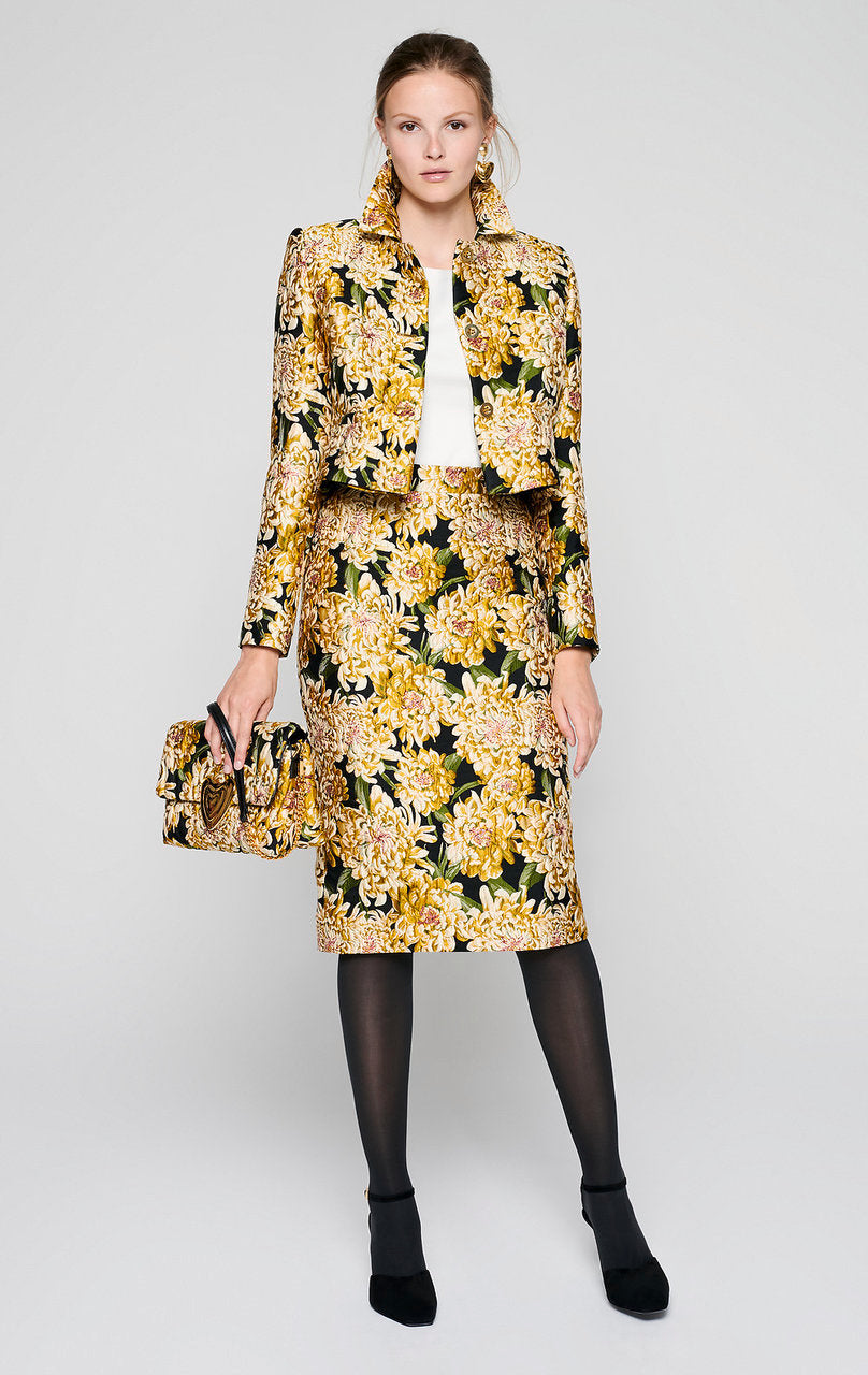 ESCADA Floral Embroidered Sweater