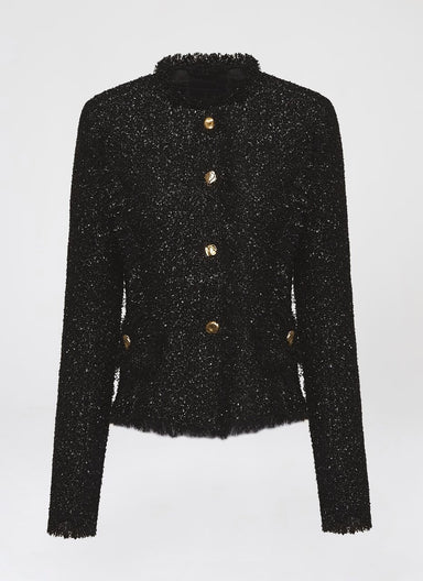 Highlight lurex tweed jacket - ESCADA