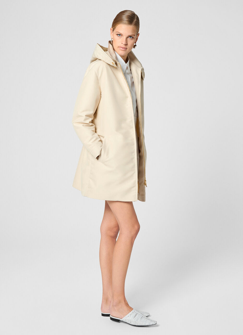 Hooded Zip Up Coat