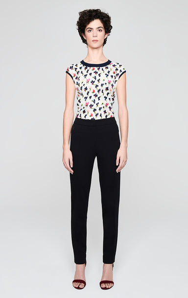 ESCADA Milano Jersey Fitted Pants
