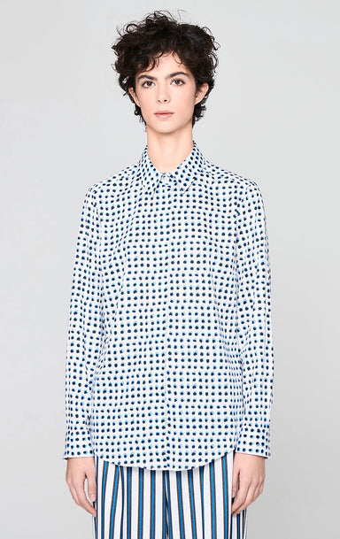 Cotton Printed Shirt - ESCADA