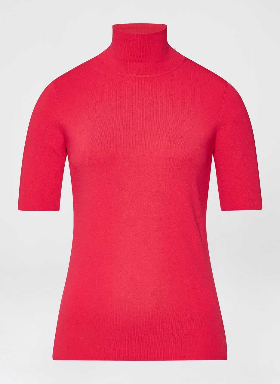 ESCADA Viscose stretch turtleneck pullover