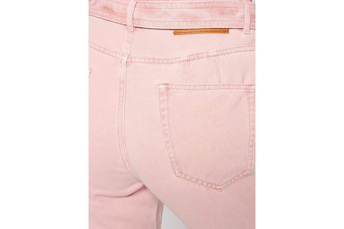 High Rise Belted Jeans - ESCADA