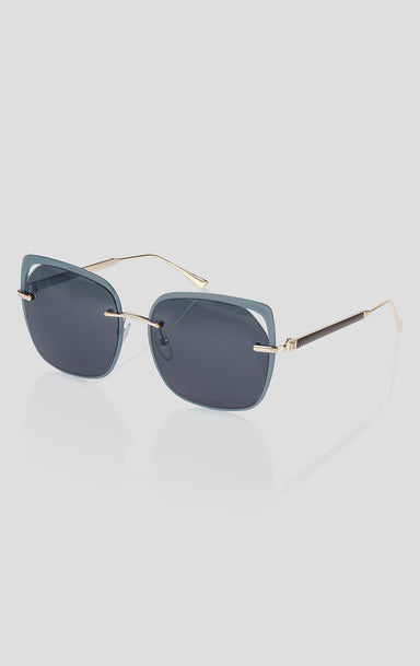 Oversized Square Sunglasses - ESCADA