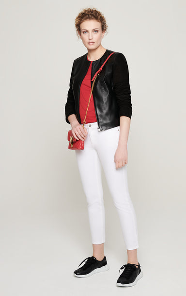 ESCADA Leather and Suede Jacket